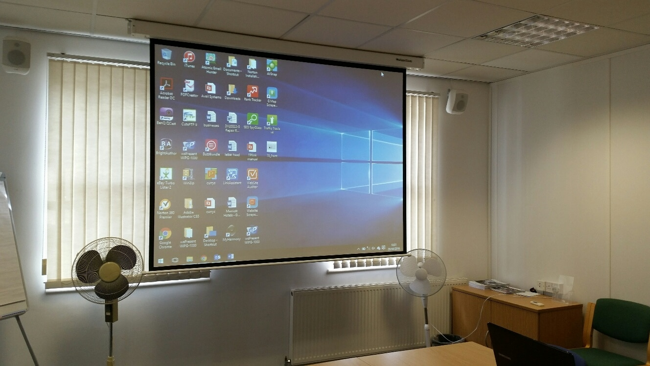 projector install services leeds
