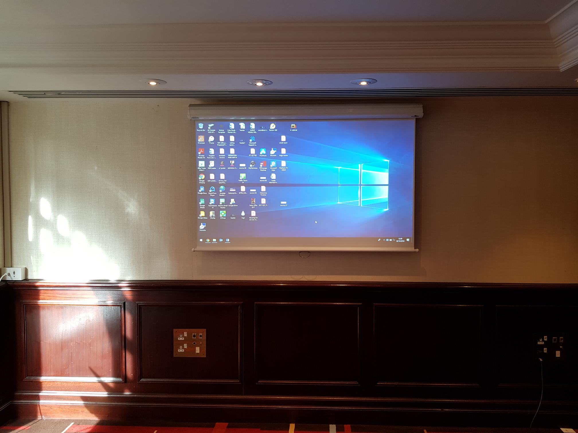 hotel projector installations